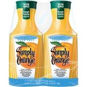 Simply Beverages Calcium & Vitamin D Pulp Free Orange Juice