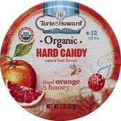 Torie & Howard Hard Candy, Organic, Blood Orange & Honey