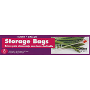 Smart Choice Storage Bags, Slider, Gallon