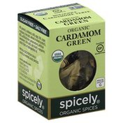 Spicely Organics Cardamom, Green, Organic
