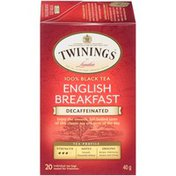 Twinings English Breakfast Decaffeinated Tea Bags