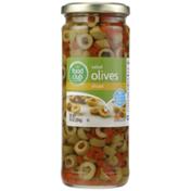 Food Club Sliced Salad Olives