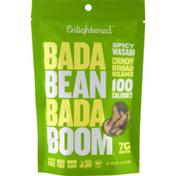 Enlightened Bada Bean Bada Boom Crunchy Broad Beans Spicy Wasabi