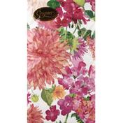 Caspari Napkins, Summer Blooms, Triple-Ply