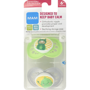 MAM Pacifiers, Monsters Collection, 6+ Months