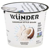 Wunder Quark, Coconut with Flakes, European Style