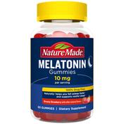 Nature Made Melatonin 10 mg Gummies - Dreamy Strawberry