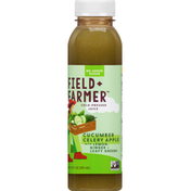 Field + Farmer Juice, Cold-Pressed, Cucumber Celery Apple