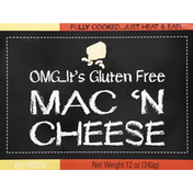 OMG Its Gluten Free Mac 'n Cheese, Fully Cooked.