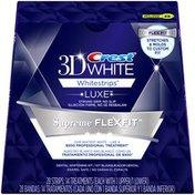 Crest 3D White Luxe Whitestrips Supreme FlexFit - Teeth Whitening Kit, Whitening/Sensitivity