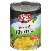 Shurfine Pineapple Chunks In Its Own Juice