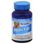 Nutri-Vet Multi-Vite, for Dogs, Liver Chewables