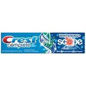 Crest Complete Multi-Benefit Whitening + Scope DualBlast Fresh Mint Blast Flavor Toothpaste