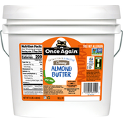 Once Again Almond Butter, Creamy, Natural, Unsweetened & Roasted