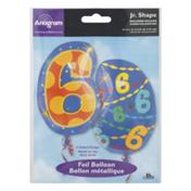 Anagram Jr. Shape Foil Balloon 6