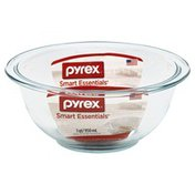 Pyrex Mixing Bowl, Glass, 1 Qt