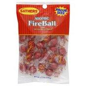 Sathers Candy, Atomic FireBall, Value Size