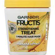 Garnier Hair Mask, 1 Minute, Strengthening Treat, + Banana Extract