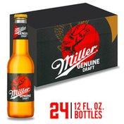 Miller Genuine Draft Light Beer, Lager Beer