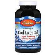 Carlson Labs Cod Liver Oil Gems Super 1,000 mg