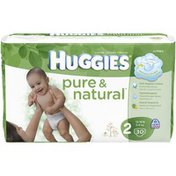 Huggies Pure And Natural Size 2 Diapers