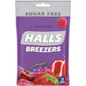 Halls Sugar Free Cool Berry Oral Demulcent Pectin Drops