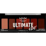 NYX Professional Makeup Shadow Palette, Petite, Warm Neutrals USPP01