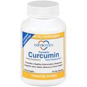 Cardiotabs Turmeric Curcumin Dietary Supplement Capsules