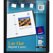 Avery Report Cover, Lay Flat, Presentation, Black