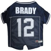 Pets First Extra Large NFL Tom Brady Mesh Pet Jersey