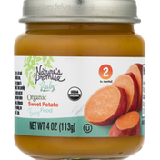 Nature's Promise Baby Food, Organic, Sweet Potato, 2 (6+ Months)