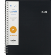Blue Sky Planner, Monthly, 2021