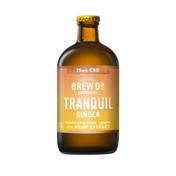 Brew Dr. Kombucha Tranquil Ginger Cbd 25 Mg Kombucha