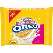 Oreo Double Stuf Golden Sandwich Cookies, Party Size.