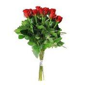 Fresh Red Rose Bunch Bouquet