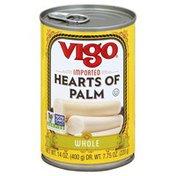Vigo Hearts Of Palm, Whole, Can