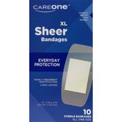 CareOne Sheer Extra Large Adhesive Bandages