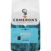 Camerons Coffee, Whole Bean, Light Roast, Woods & Water