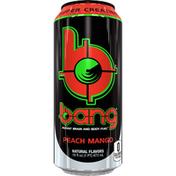Bang Potent Brain and Body Fuel, Peach Mango