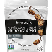 Somersaults Snack Co Sunflower Seed Crunchy Bites - Sslt & Pepper
