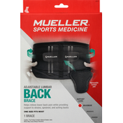 Mueller Back Brace, Adjustable Lumbar, Maximum