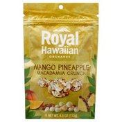 Royal Hawaiian Orchards Macadamia Crunch, Mango Pineapple