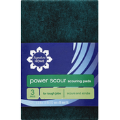 Signature Home Scouring Pads, Power Scour