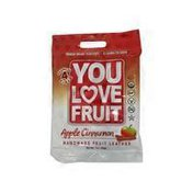 You Love Fruit Organic Apple Cinnamon Fruit Leather Snack