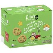 Ella's Kitchen Multigrain Wheels, Cheddar + Leeks, Toddler (from 1 Year)