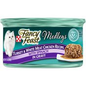Fancy Feast Elegant Medleys Canned Chicken & Turkey  Wet Cat Food