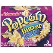 Schnucks Butter Light 2.9 Oz Bags Popcorn
