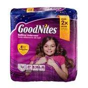 GoodNites Bedtime Underwear - 27 CT