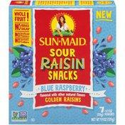 Sun-Maid Sour Blue Raspberry Raisin Snacks