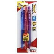 Pentel Mechanical Pencils, Medium (0.7 mm)